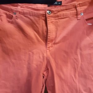 Faded Glory coral jeans